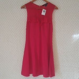 French Connection Crimson Fit Flare Dress